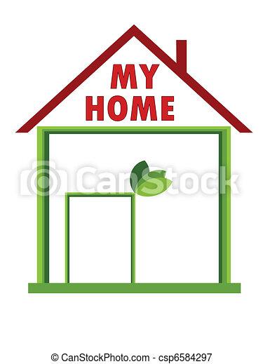 Mi casa - csp6584297