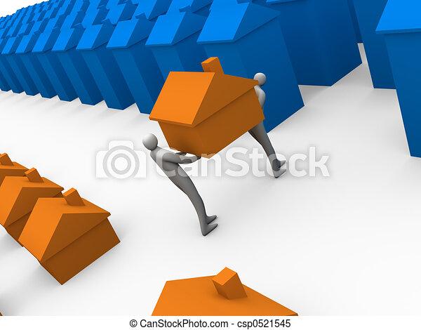 Casa en movimiento - csp0521545
