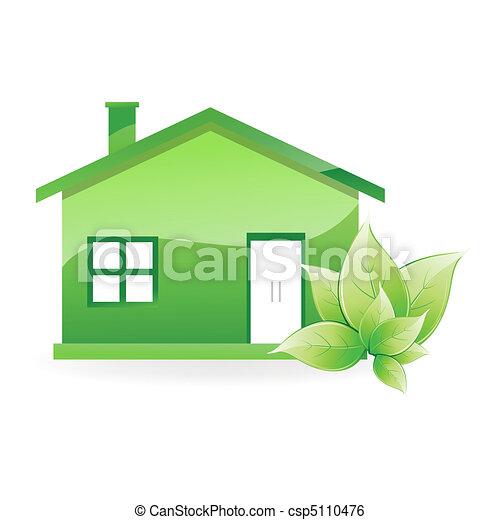 Casa natural - csp5110476