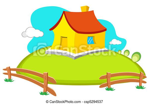Casa natural - csp5294537