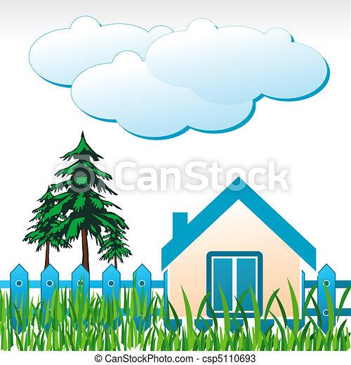Casa natural - csp5110693