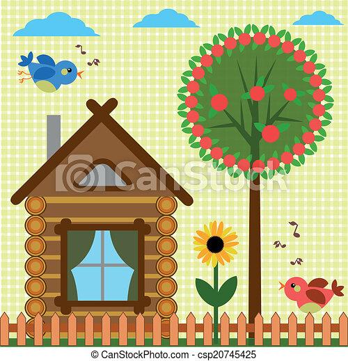 Antecedentes con casa - csp20745425
