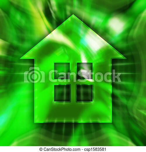 El símbolo de la casa - csp1583581