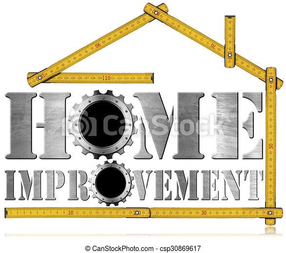Simbolo de mejora con engranajes - csp30869617