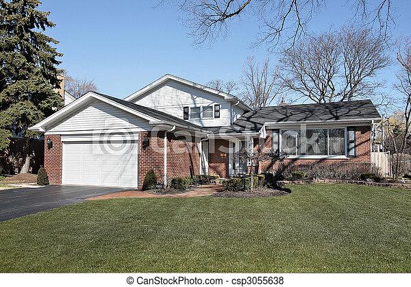 Ladrillo suburban - csp3055638