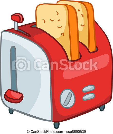 Tostadora de cocina casera - csp8690539