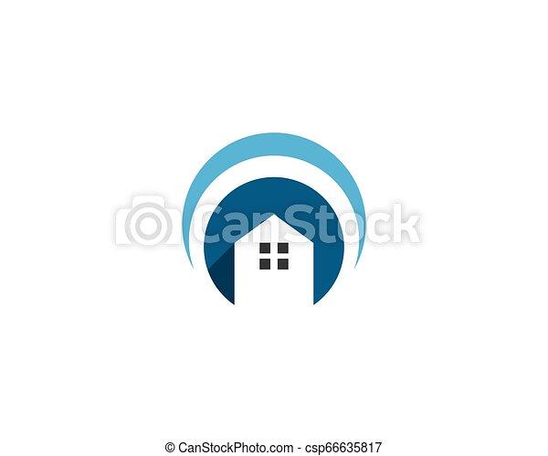 Vector de logo - csp66635817