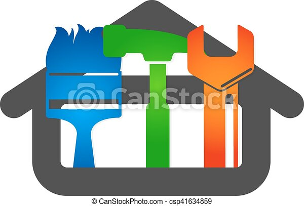 Vector de reparación del hogar - csp41634859