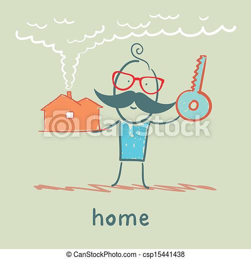 A casa - csp15441438