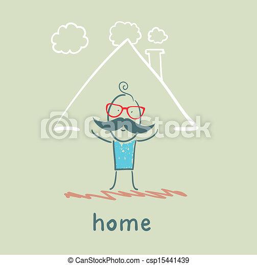A casa - csp15441439