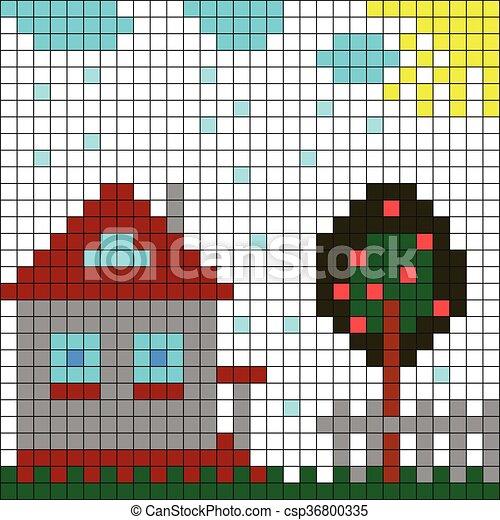 A casa - csp36800335
