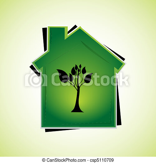 Casa verde - csp5110709