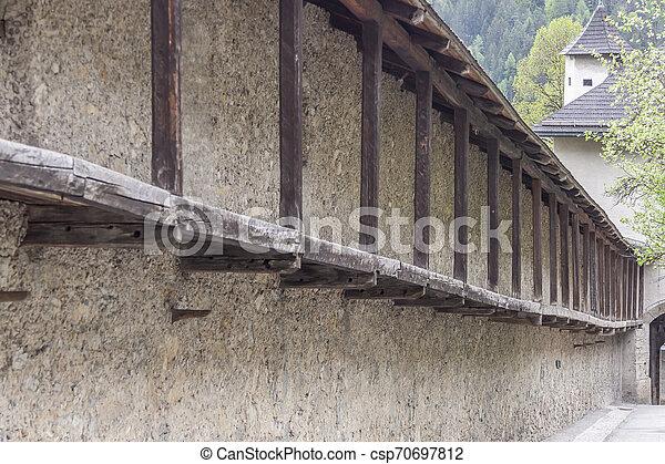 Hohenwerfen Castle - Austria - csp70697812