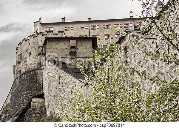 Hohenwerfen Castle - Austria - csp70697814
