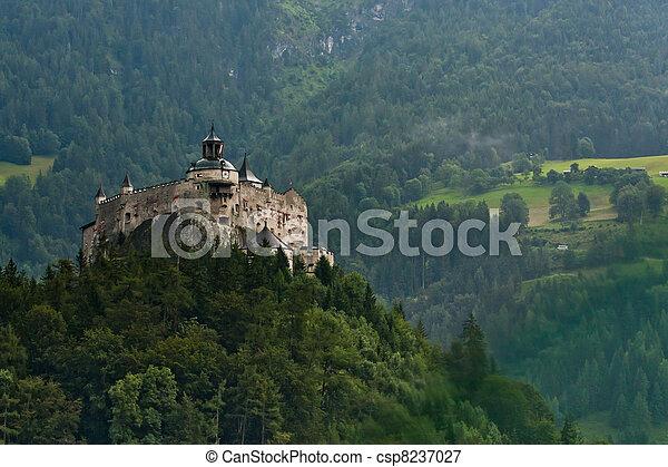 Hohenwerfen castle in Austria - csp8237027
