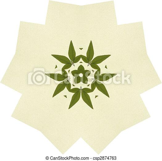 Hoja, simetría. Simétrico, hojas, ilustración, arreglo dibujos ...
