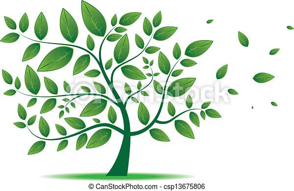 Hojas árbol Applications Vector Liking Ajustar Imagen Del