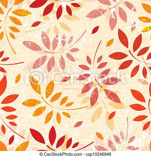 Hojas de papel tapiz - csp10246948