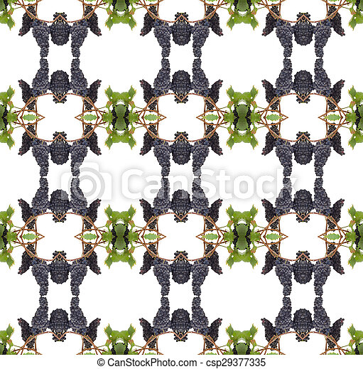 Violación con hojas aisladas en el fondo blanco - csp29377335
