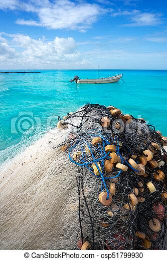 Holbox Tropical Island In Quintana Roo Mexico Csp51799930