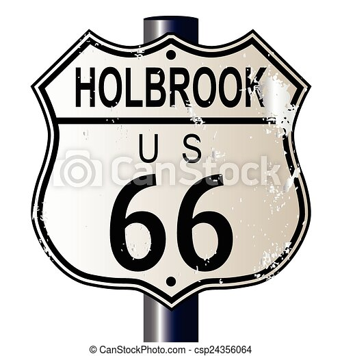 holbrook route 66 sign holbrook route 66 traffic sign over clip rh canstockphoto com route 66 clipart without border route 66 clipart without border