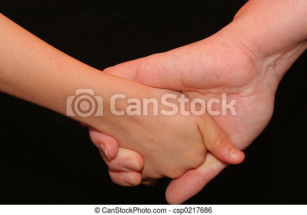 Holding Hands - csp0217686