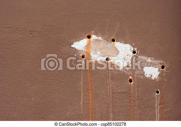 Hole in the wall background - csp85102278