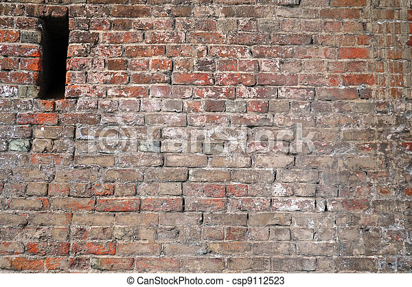 Hole in the wall background - csp9112523