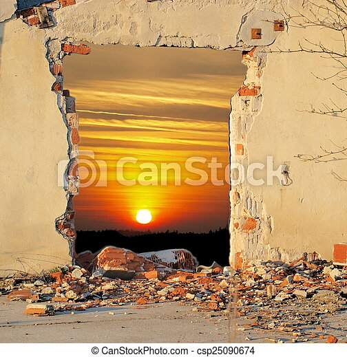 Hole in the Wall - csp25090674