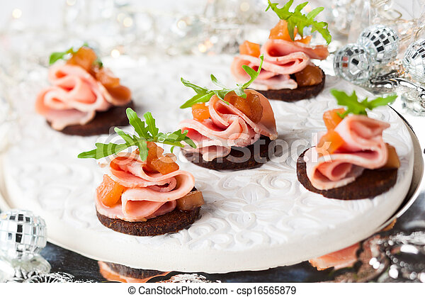 Holiday appetizer - csp16565879