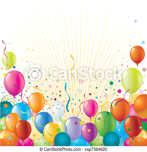 holiday celebration background - csp7364620