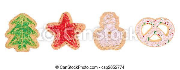 holiday cookies - csp2852774