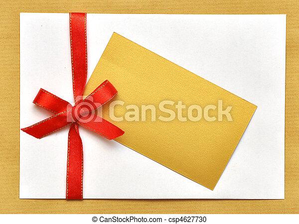 holiday envelop - csp4627730