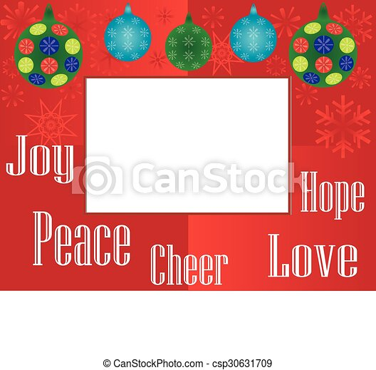 Holiday Frame 4x6 - csp30631709