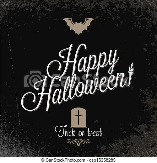 holiday - frame happy halloween - csp15358283