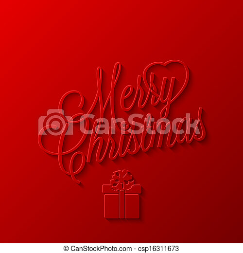 holiday frame happy merry christmas - csp16311673