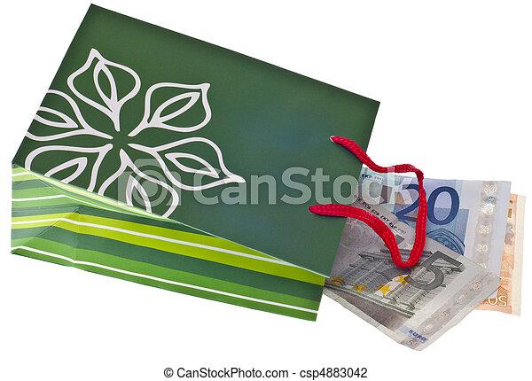 Holiday Gift Budget - csp4883042