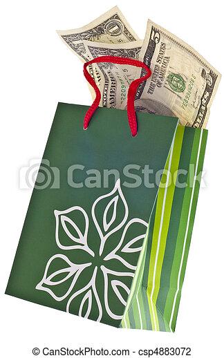 Holiday Gift Budget - csp4883072