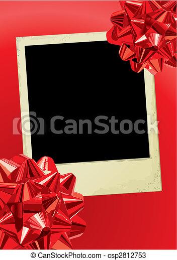 Holiday Photo (vector) - csp2812753