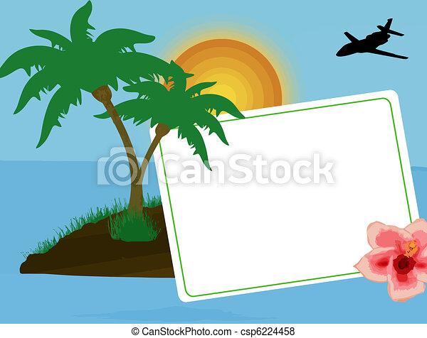 Holiday postcard - csp6224458