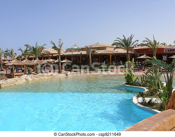 Holiday resort - csp9211649