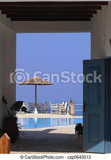 Holiday resort - csp0643013