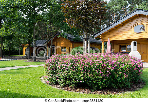 Holiday resort - csp43861430