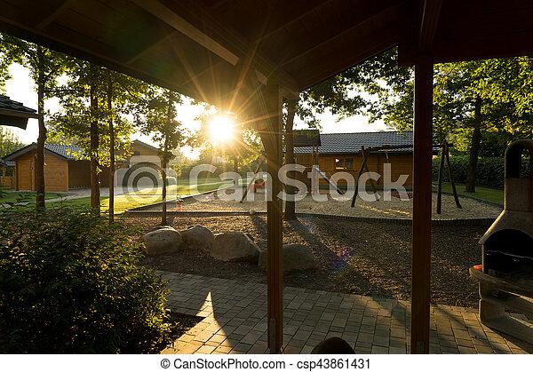 Holiday resort - csp43861431
