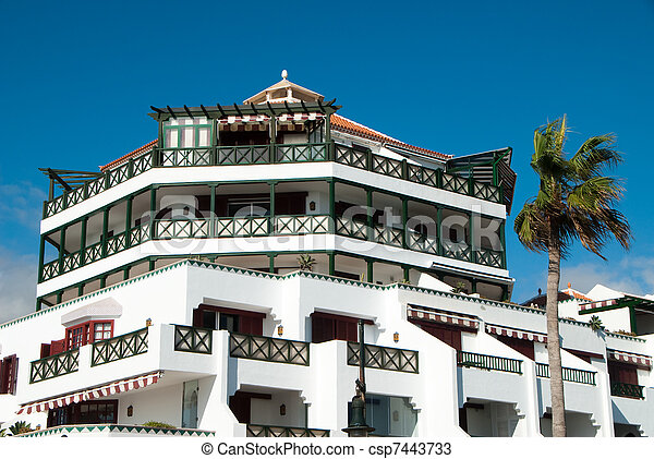 Holiday Resort - csp7443733