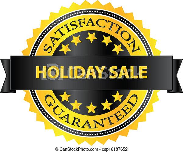 Holiday Sale Badge - csp16187652