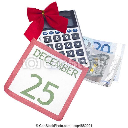 Holiday Season Budget - csp4882901