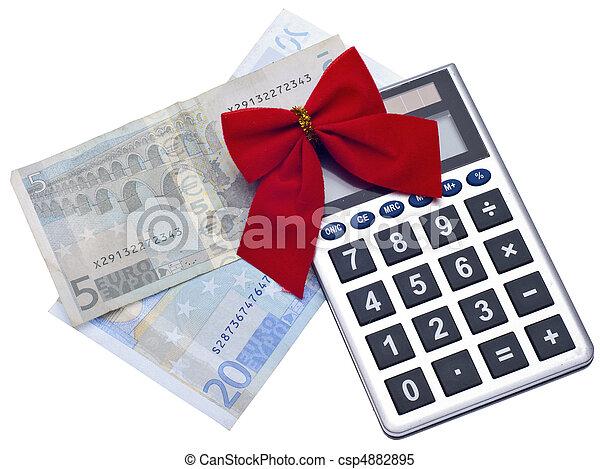 Holiday Season Budget - csp4882895