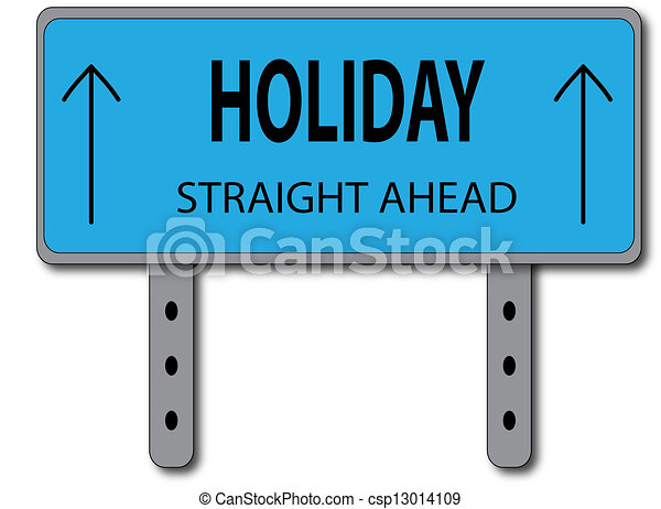 Holiday Sign Concept - csp13014109