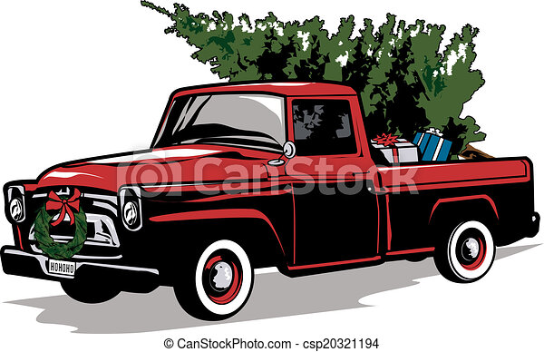 Holiday Truck - csp20321194